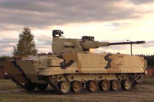Nga phô diễn hỏa lực của BMP-3 với pháo tự hành 57mm