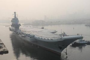 Tàu sân bay mới của Trung Quốc hoàn thành việc chạy thử nghiệm 