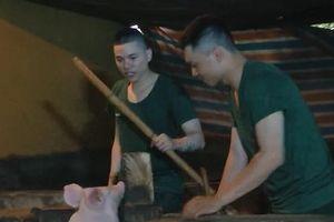Đã quen với vất vả trong quân ngũ, giờ đây Hoàng Tôn còn vui vẻ hỏi lợn: 'Mày hóng hớt cái gì?'