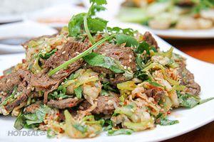 Mách bạn cách làm gỏi bò lá chanh cho bữa ăn thêm phần thú vị