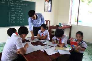 Lớp học đặc biệt ở đảo Trường Sa