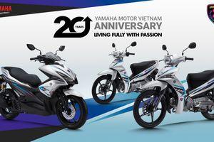 Sirius và NVX phiên bản kỷ niệm 20 năm của Yamaha có gì đặc biệt?