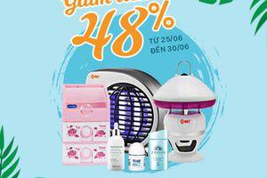 SALE 48% - Sắm ngay đồ gia dụng và sản phẩm chăm sóc da