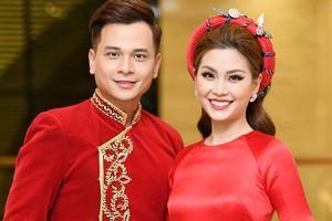 Á hậu Diễm Trang tỏa sáng khi làm MC đêm chung khảo phía Nam Hoa hậu Việt Nam