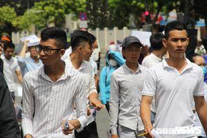 Đà Nẵng: 107 thí sinh bỏ thi trong ngày đầu tiên