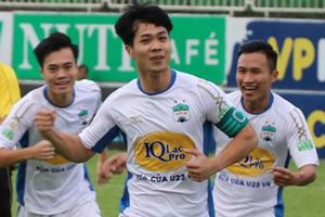 HAGL vs CLB Quảng Ninh (4-0): Công Phượng đá phạt, Văn Toàn ghi cú đúp