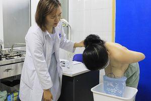 Phẫu thuật thành công cho bệnh nhân phì đại tuyến vú