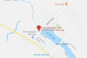 Quảng Trị: Kỷ luật cảnh cáo 1 giám đốc quỹ đất