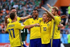 Thụy Điển thành công với 'canh bạc tất tay' trước Mexico