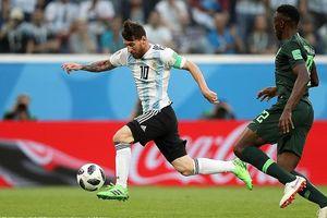 Messi nói gì khi giúp Argentina tiến vào vòng 1/8?