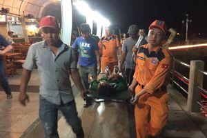 Kịp thời cứu nạn thuyền viên tàu cá Kiên Giang bị tai nạn trên biển