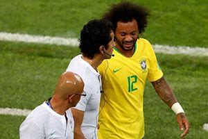 Tuyển Brazil trả giá đắt cho trận thắng Serbia