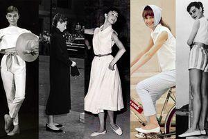 Audrey Hepburn - biểu tượng thời trang của mọi thời đại luôn nói 'không' với giày cao gót