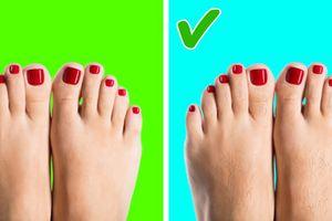 Cách nhìn bàn chân đoán tình trạng sức khỏe chuẩn xác