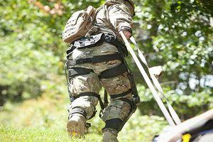 Lính Mỹ sắp có bộ khung xương chân 'lực sĩ'