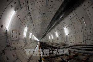 Đón máy khoan hầm thứ 2 tuyến metro Bến Thành – Suối Tiên