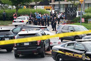 4 người chết trong vụ xả súng ở văn phòng một tờ báo tại Mỹ