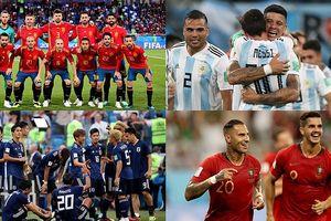 BXH ứng viên vô địch World Cup 2018: Brazil số 1, Bồ Đào Nha hạng 10