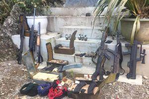 3 người chết khi đang ôm súng trong nhà trùm ma túy Sơn La