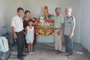 Chung tay xây nhà cho con gái TNXP Đồng Lộc