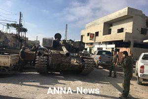 Dân đổ ra đường xua đổi phiến quân, Quân đội Syria dành lại Đông Daraa