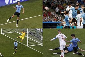 Toàn cảnh Uruguay 2-1 Bồ Đào Nha: Cavani tiễn Ronaldo về nước