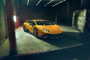 Lamborghini Huracan Performante dữ dằn hơn qua bàn tay Novitec