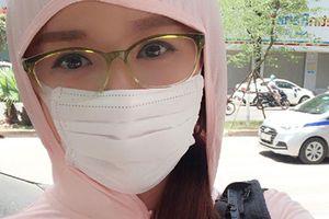 Hot Face sao Việt 24h: Mai Phương Thúy bịt kín mít vì sợ nắng