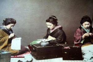 Ảnh màu tuyệt đẹp Nhật Bản thế kỷ 19