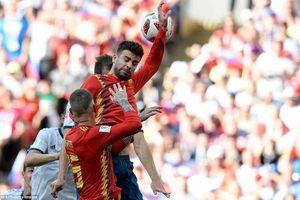 Tây Ban Nha bị phạt đền là đúng, trọng tài không thiên vị Nga