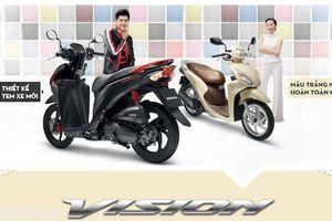 Giá xe Vision 2018 mới nhất tháng 7