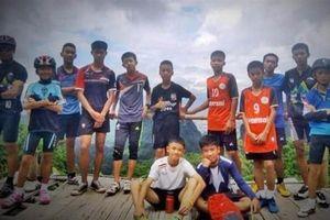 Giới chức Thái Lan đặt mục tiêu đưa đội bóng mắc kẹt ra khỏi hang