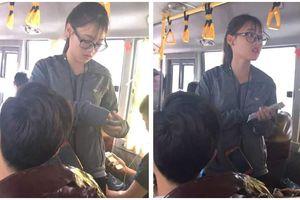 'Hot girl' bán vé xe bus được dân mạng rần rần truy tìm link Facebook là ai?