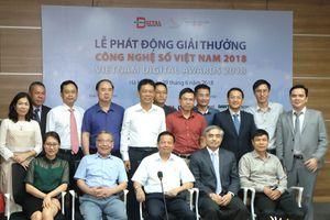 Giải thưởng Công nghệ số Việt Nam 2018 lần đầu tổ chức