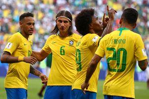 Sự khác biệt của Willian giúp đội tuyển Brazil biến ảo hơn