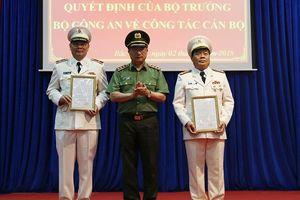 Thiếu tướng Tô Ân Xô giữ chức Giám đốc Công an tỉnh Bắc Giang
