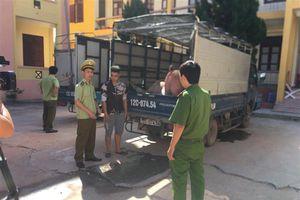 Lạng Sơn: Thu giữ hơn 3 tấn thịt lợn nhập lậu từ Trung Quốc