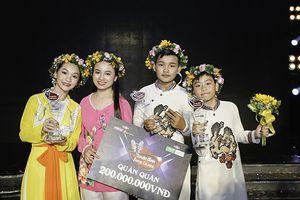 Tấn Bảo - Nhật Duy và Khánh Linh - Minh Ngọc đăng quang cuộc thi Tuyệt đỉnh song ca nhí