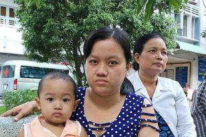 Xót xa bé gái 2 tuổi bị ung thư máu không tiền chữa trị