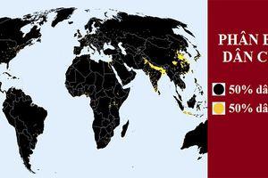 10 tấm bản đồ cho bạn cái nhìn hoàn toàn khác về thế giới, bản đồ nước Pháp 'là hàng hiếm'