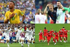 Bộ ảnh chế 'chất lừ' tái hiện sống động vòng 16 đội World Cup 2018