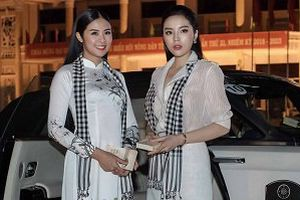Dàn Hoa hậu, Á hậu đọ sắc bên siêu xe