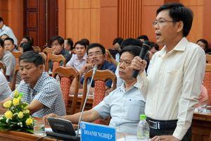 Doanh nghiệp Quảng Nam 'than' khó tiếp cận đất đai, vốn và chính sách thuế
