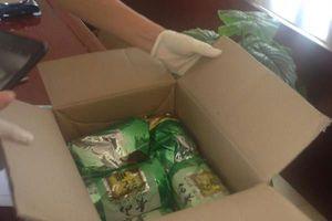 Hải Phòng: Bắt 2 đối tượng mua bán 5 kg ma túy tổng hợp ngụy trang bằng chè khô