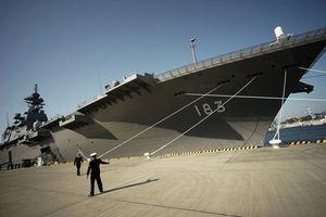 Nhật Bản điều tàu sân bay Kaga tới biển Đông