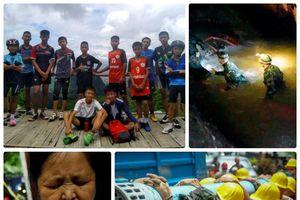 Toàn cảnh vụ giải cứu đội bóng nhí mắc kẹt trong hang ở Thái Lan