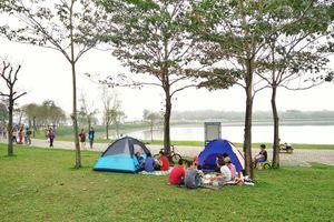 Nhiệt độ ở khu đô thị Ecopark chênh lệch bao nhiêu so với Hà Nội?
