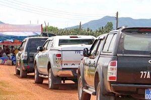 Người dân giải tán sau khi Chủ tịch huyện Phù Mỹ trực tiếp đối thoại