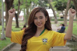Người đẹp Quỳnh Nhi thao thức vì Neymar