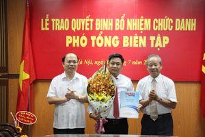 Tạp chí Việt Nam Hội nhập có Phó Tổng Biên tập mới